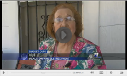 Meals On Wheels Cuts Possible CBS Screenshot