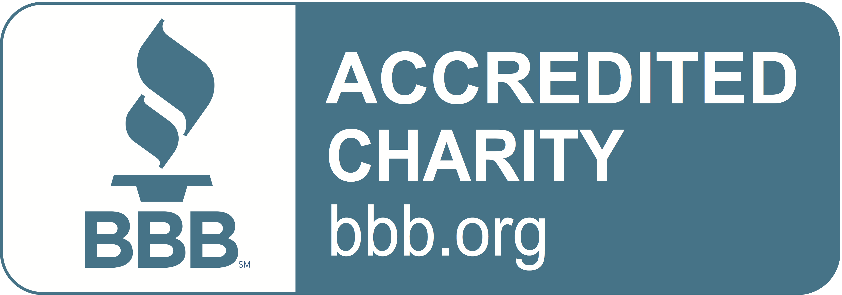 BBB Accredited Charity Badge