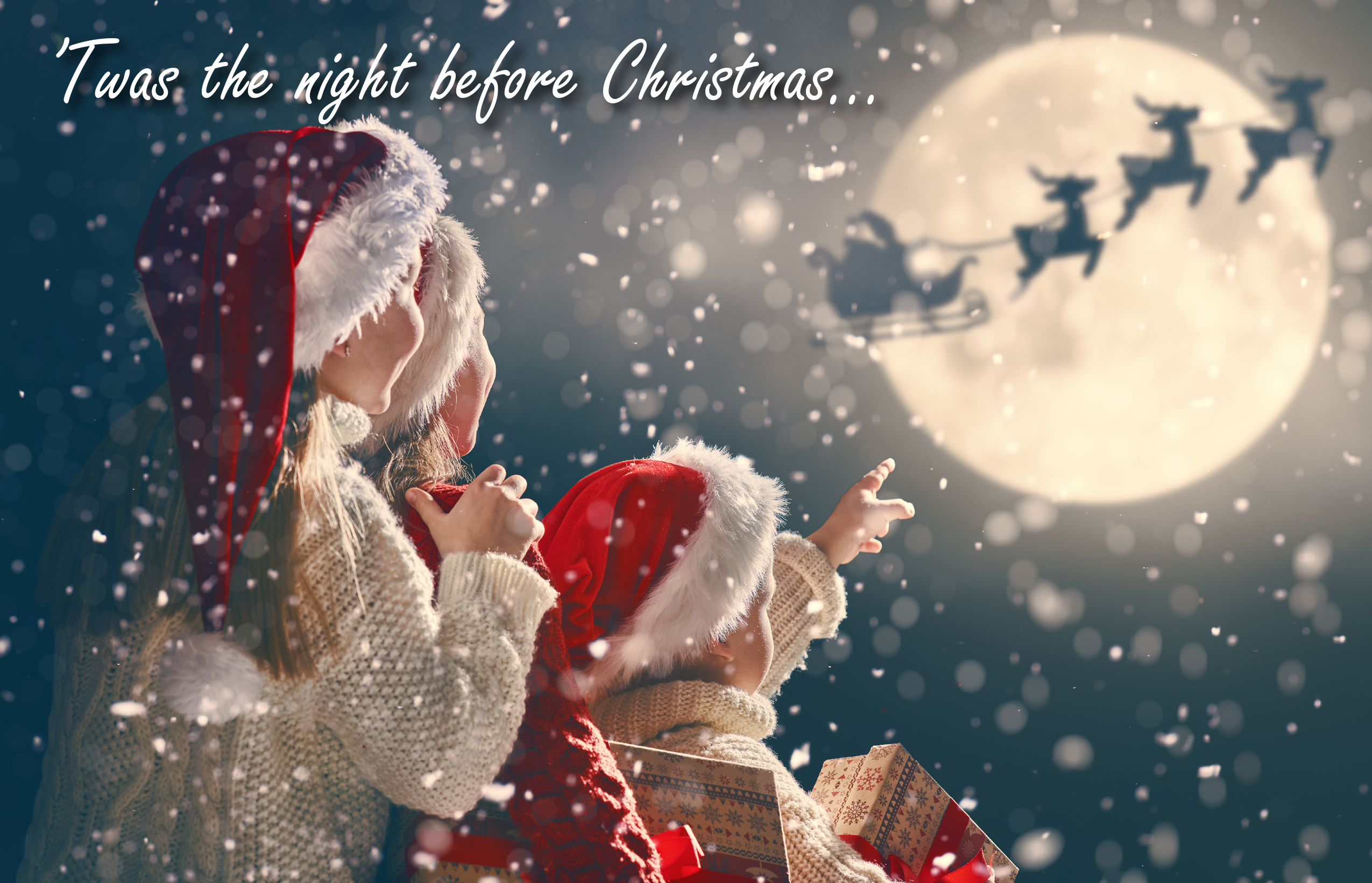 2019 'Twas the Night Before Christmas Greeting Card