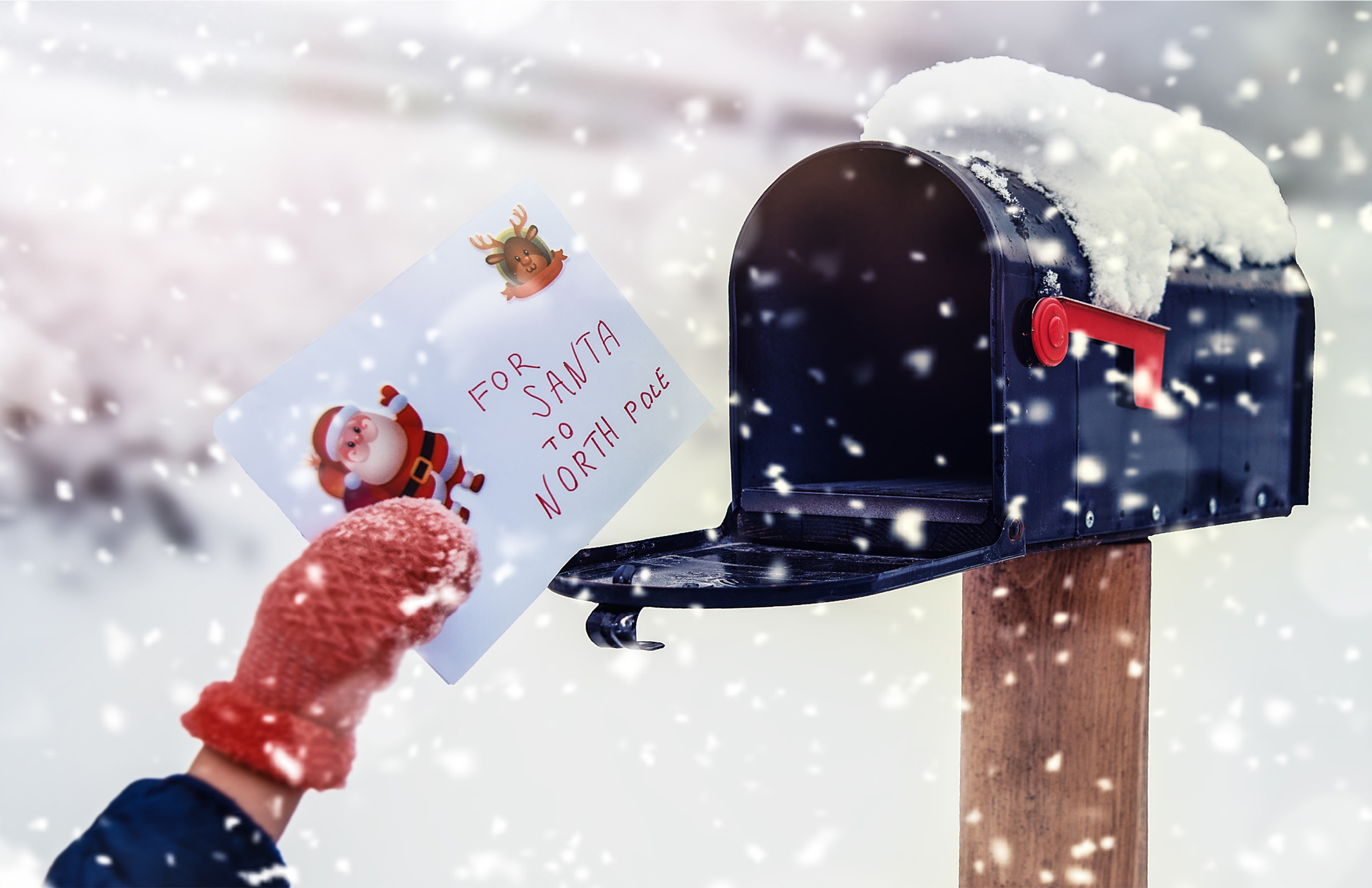 2020 Letter to Santa Greeting Card