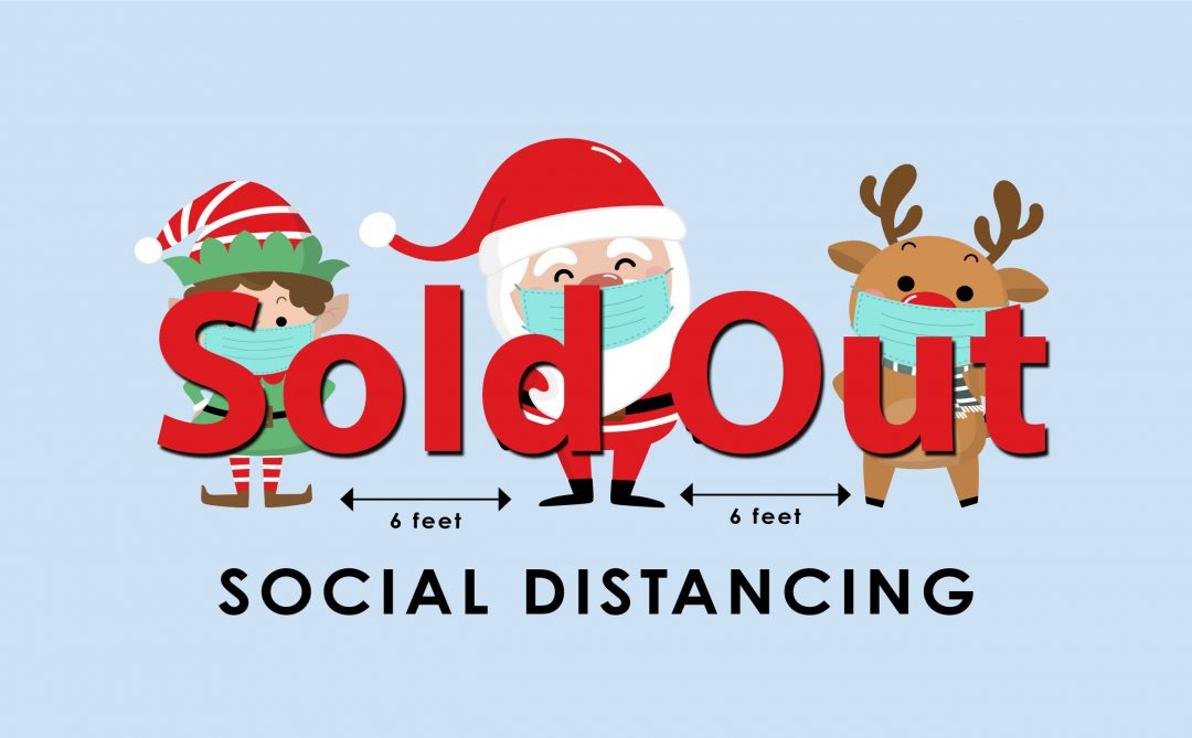 2020 Social Distancing Greeting Card